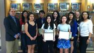 Several world language students from Wheeling School recently achieved national recognition for excellent performance on the 2013 National Spanish Examinations, earning a total of three silver medals and one bronze medal, along with four honorable mentions.