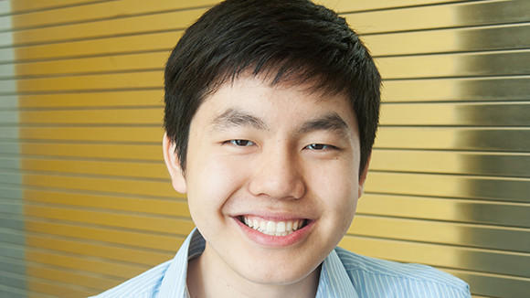Kevin Wang, a graduate of the Illinois Mathematics and Science Academy, is one of 22 Thiel Fellows that will complete a 2-year program in San Francisco.