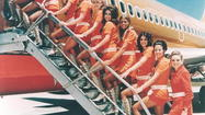 Southwest Airlines hot pants and go-go boots