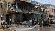 KABUL, Afghanistan -- The U.S.-military contractor DynCorp International says four American employees were killed in a suicide car bombing Thursday in the Afghan capital, Kabul, bringing the number of Americans slain to six.