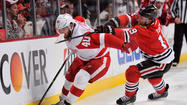 Red Wings vs. Blackhawks