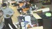 RAW VIDEO: Surveillance footage from North Laurel liquor store robbery