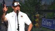 Auburn's Guz Malzahn will lead the Tigers in 2013
