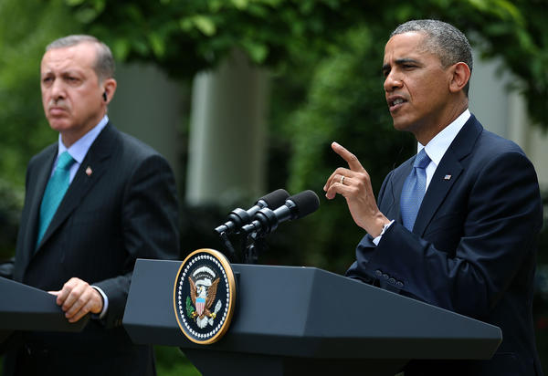 President Obama and Turkish Prime Minister Recep Tayyip Erdogan