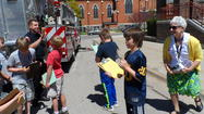 VIDEO - Petoskey's Central Elementary School Egg Drop