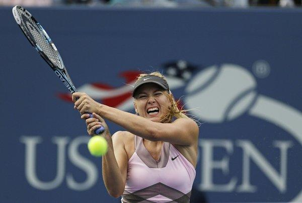 ESPN will be the television home for U.S. Open tennis beginning in 2015. Here, Maria Sharapova participates in the 2012 U.S. Open in New York.