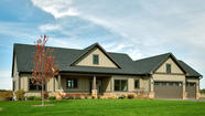 New ranches in Henning Estates in near northwest suburban Huntley, appeal to all kinds of home buyers.