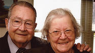 Mr. and Mrs. James A. Longmore celebrated their 60th anniversary on May 5. The couple, who wed at St. Paul's Episcopal Church in Old Town Alexandria, Va., on May 2, 1953, marked the day with family and friends at Dutch's Daughter Restaurant in Frederick, Md.