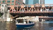 Turning the Chicago River green with electric boat fleet