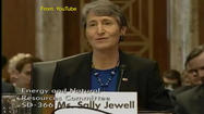 Interior Secretary Sally Jewell announced new draft rules governing hydraulic fracturing during oil drilling on federal and Indian lands Thursday, calling them part of a pro-energy Obama administration policy.