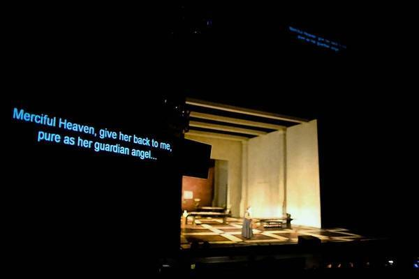 "A scene from LA Opera's production of ""Simon Boccanegra."""
