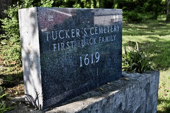 Tucker Cemetary in Hampton, Va.