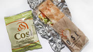 Struggling restaurant chain Cosi Inc. said its loss swelled in the first quarter as its customer traffic slid and costs ballooned.