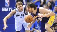 Dallas Mavericks star Dirk Nowitzki is prioritizing winning a championship over money.