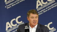John Swofford, the commissioner of the ACC, has been in the forefront of major changes to the league over the past 12-months.
