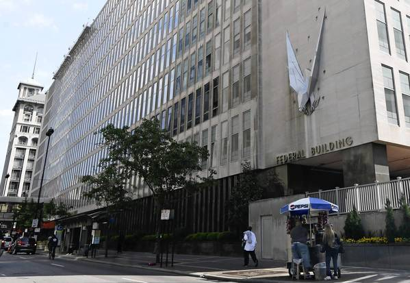 The federal building in Cincinnati, where Internal Revenue Service agents targeted in the investigation work.