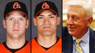 When right-hander Zach Clark was summoned to Orioles manager Buck Showalter's office two weeks ago and told he was being designated for assignment, the conversation suddenly veered off in a peculiar direction.