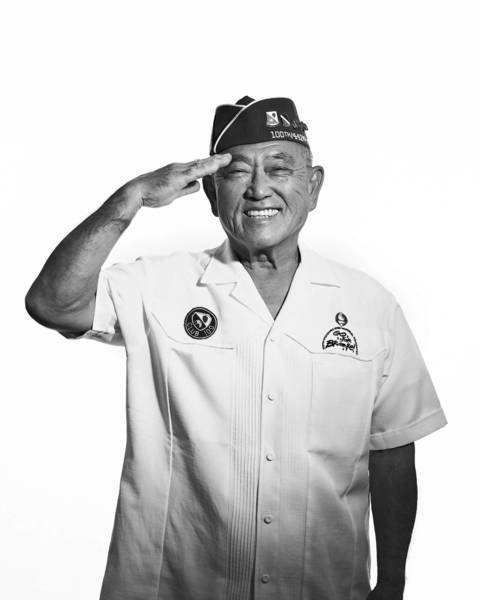 "Tokuji Yoshihashi served with the 442nd Regimental Combat Team during World War II. The unit, known for its motto, ""Go For Broke,"" was one of three Nisei units to receive the Congressional Gold Medal."