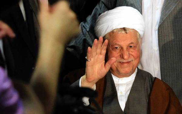 Iran's Guardian Council is still mulling the candidacy of former President Ali Akbar Hashemi Rafsanjani, above, and presidential aide Esfandiar Rahim Mashaei.