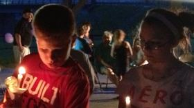 A community gathers to remember two children killed in Lexington car accident