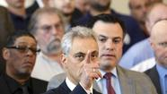 I've got a feeling that in some weird, alternate universe, Mayor Rahm Emanuel is making a decent living playing hide-the-pea.