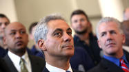 Mayor Rahm Emanuel has returned a $10,000 campaign donation from a lobbyist for a tech firm disqualified from a city program this week after the Tribune raised questions about potential violations of the mayor's self-imposed limits on political fundraising, an Emanuel spokeswoman confirmed Thursday.