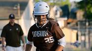 Paige Kogelman had a night to remember on Tuesday when her Catasauqua team rolled past Palmerton 15-4 in the Colonial League semifinals.