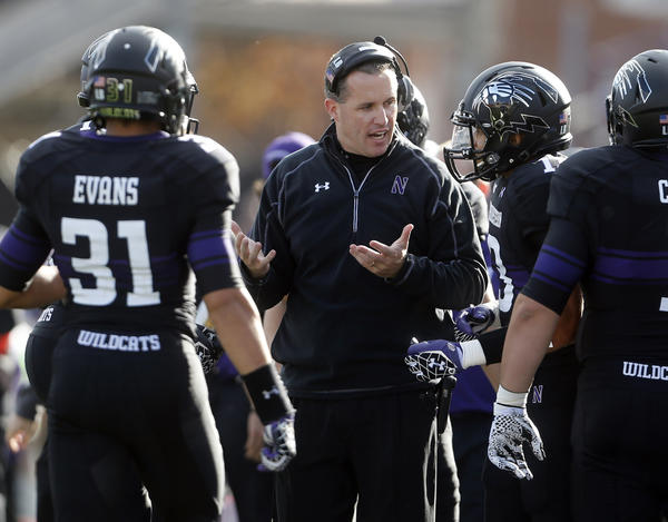 Northwestern coach Pat Fitzgerald has secured 10 oral commitments for the Class of 2014.