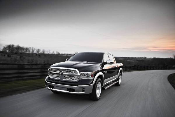 This year, Chrysler has added eight-speed transmissions to its Ram truck and a couple of Chrysler sedans. Above is the 2013 Chrysler Ram 1500.