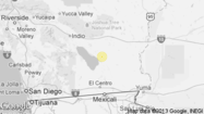 A shallow magnitude 3.4 earthquake was reported Thursday evening six miles from Niland, Calif., according to the U.S. Geological Survey. The temblor occurred at 8:07 p.m. at a depth of 3.1 miles.