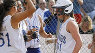 Photo Gallery: Burbank High softball advances in playoffs by beating El Rancho High