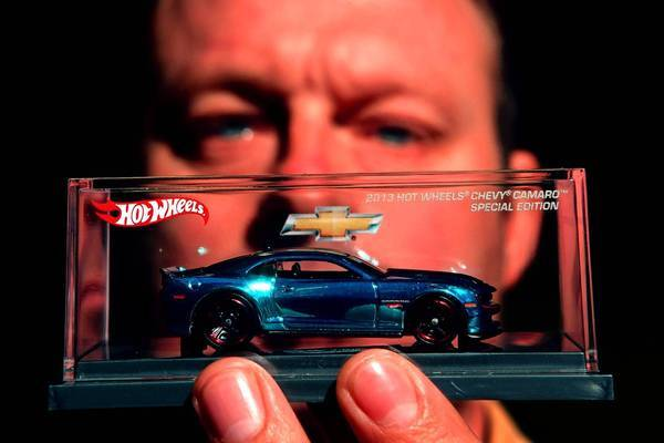 """You get to be a lot more creative in design at Hot Wheels than in the real automotive world,"" said Felix Holst, vice president of design for the Mattel Wheels Division."