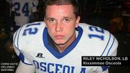 "<span style=""font-size: small;"">Kissimmee Osceola linebacker Riley Nicholson figured he'd be getting a college offer at some point this spring. He watched numerous other players from the Class of 2015 getting offers.</span>"