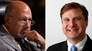 In their feisty final debate before election day, controller candidates Dennis Zine and Ron Galperin repeatedly hammered an insider-versus-outsider theme, seeking to convince voters they would be best prepared to be the city's next chief auditor and accountant.