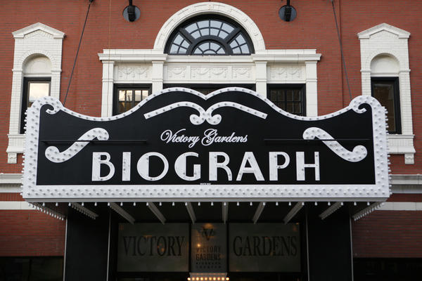 The marquee at Victory Gardens Theater at the Biograph on Sept. 28, 2006.