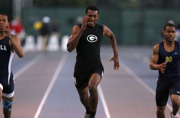 ARCHIVE PHOTO: Glendale High sprinter Michael Davis will look to end his high school career with a bang in the CIF Southern Section Division I Finals and beyond.
