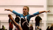 Gymnasts Take Top Ten at State Meet