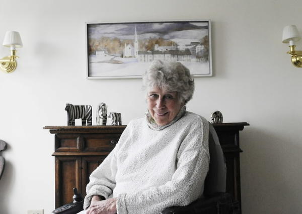 Polly Hincks, a polio survivor who had dedicated her live to fighting the disease.