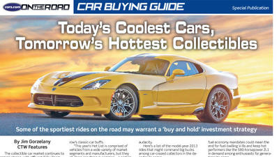 Car Buying Guide <br> May 15, 2013<br><br>Click to View Section