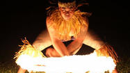 <b>Photos</b>: Hawaii's Fireknife Championship