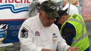 Army Reserve chef in 2013 salmon cook-off