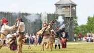 More than 200 volunteer cast members dressed in authentic 18th century garb will re-enact historical events at Fort Michilimackinac in Mackinaw City on Memorial Day weekend.