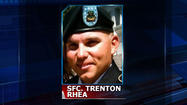 A soldier from the Kansas town of Oakley has died while serving in Afghanistan. 33-year-old Sergeant First Class Trenton L. Rhea died in Kandahar on May 15.