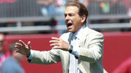 Alabama coach Nick Saban took the higher road when asked to respond to recent comments from former assistant Tim Davis.