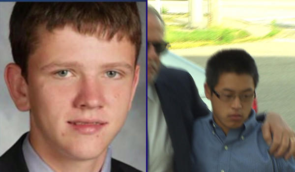James Malecek (right, in 2011) pleaded guilty Thursday to involuntary manslaughter in the death of Kevin Kennelly Jr.