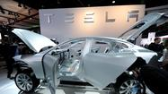Tesla Motors shares are trading at about $90 and could easily top $100, buoyed by its ability to tap capital markets for about $1 billion through its announced sale of stock and convertible notes.