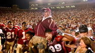 "TALLAHASSEE -- Tickets to some of Florida State's football games this fall are now on sale for purchase through the school at Seminoles.com. FSU announced earlier this week the sale of two different three-game packages. One of them includes seating for ""Bobby Bowden Day"" on Oct. 26."