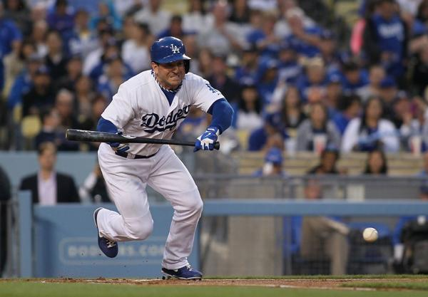 Nick Punto has been a pleasant surprise for the Dodgers this season.