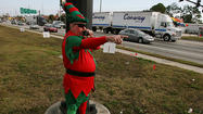 <b>Pictures:</b> Costumed police nab Florida speeders
