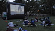 "If you missed the latest James Bond movie ""Skyfall"" or Oscar award-winning ""Life of Pi"" in the theater, the good news is you can catch up and watch the movies in a park this summer."